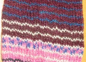 Socke, Detail