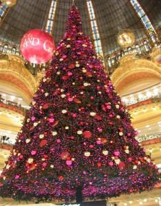Weihnachtsbaum Galeries Lafayette
