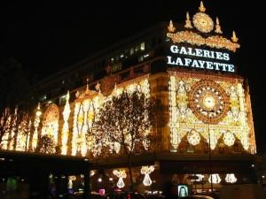 Weihnachtesdekoration Galeries Lafayette