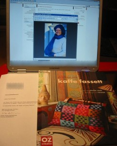 Schal und Buchpreis