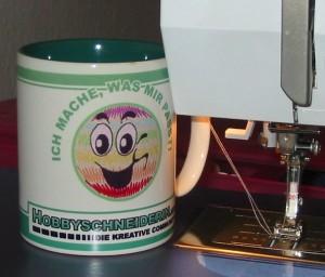 Hobbyschneiderin Tasse