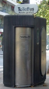 Automatikklo in Paris