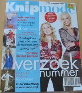 Knipmode August 2009