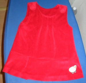 Babykleid Burda