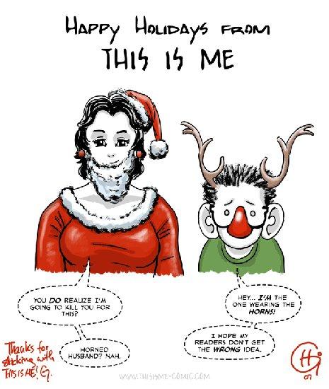 Weihnachtsgrüße von This is me