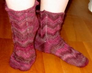 Socken nach Jaywalker