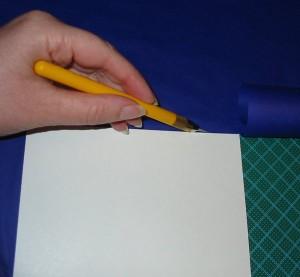 Seidenpapier zuschneiden