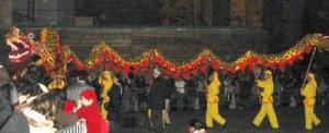 chinesischer Drache in St Germain