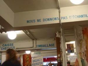 In der Deballage St. Pierre