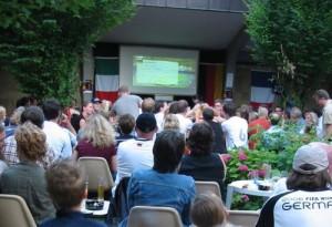 Publich Viewing bei WM 2006