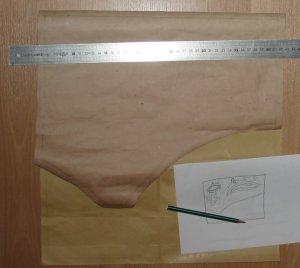 Entwurf der Tasche