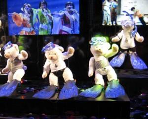 Tanzende Teddies, Galeries Lafayette, 2010
