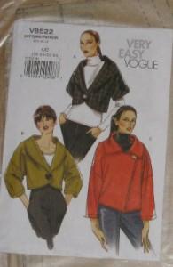Vogue Schnitt Jacke 8522