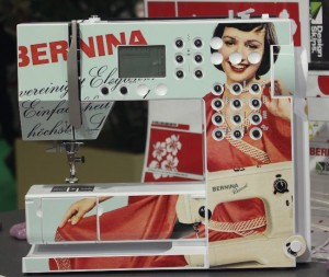 Bernina mit skin