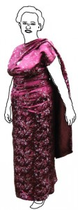 Vintage Kleid Vogue