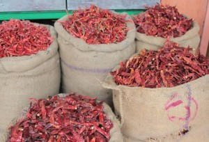 Chilihändler Jaipur