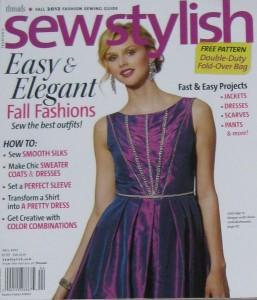 Zeitschriftentitel Sewstylish