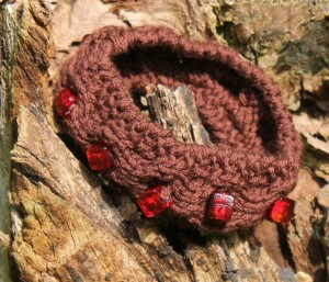 gestricktes Armband