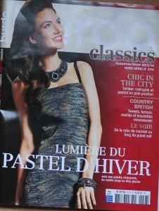 Titel Burda classics, französische Ausgabe
