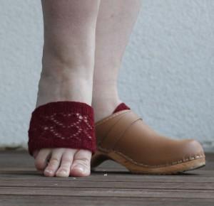 Socken für Clogs