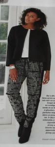 Hose und Jacke aus Fait Main