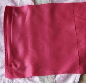 Form der Taschenbeutel