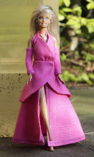 Barbiekleid