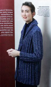 Strickjacke aus Fait Main