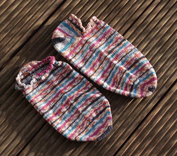 Sneaker Socken aus Baumwollgarn