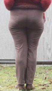 Hose von hinten