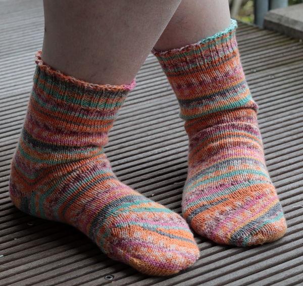 Tipsy Toe Socks