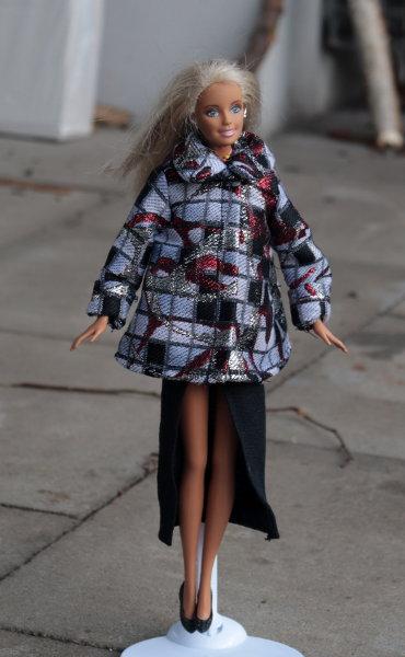Jacke und Rock für Barbie
