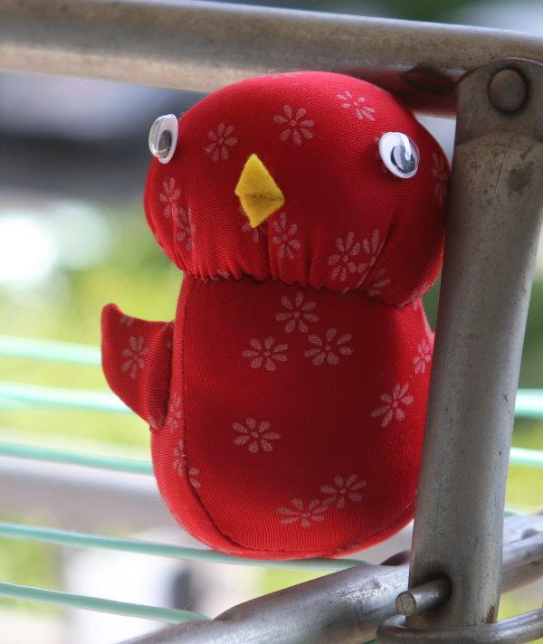 roter Vogel aus Jersey