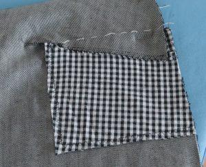 Taschenbeutel zurückschneiden