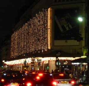 Weihnachtsbeleuchtung BHV