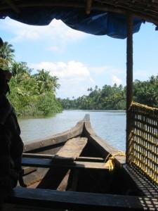 Backwater in Kerala