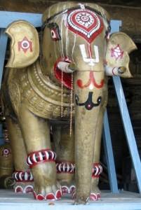 Tempelelefant in Belur