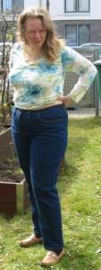 Jeans vorne