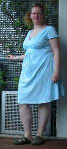 Probekleid = Nachthemd