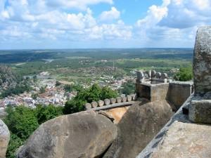 Blick von Vindhyagiri Hill