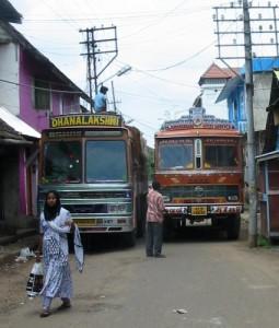 Verkerh in Indien