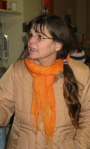 Anne, die Hobbyschneiderin