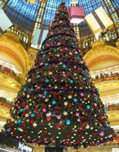 Weihnachtsbaum 2010 Galeries Lafayette