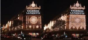 Fassade Galeries Lafayette 2010
