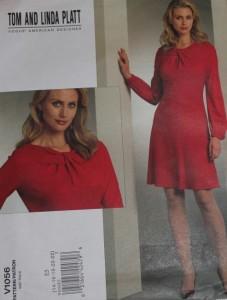 Vogue V1056, Schnittüte