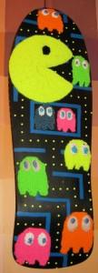 Skatebourd mit Pacman