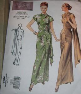 Kleid Vogue 2494