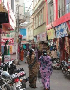 Einkaufsstraße in Udaipur