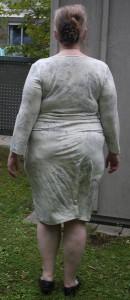 Kleid Burda 6785, Rückseite