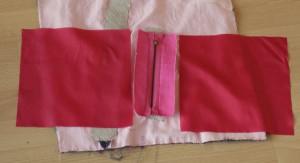 Taschenbeutel zugeschnitten